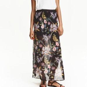 Dresses & Skirts - Blue bandana maxi skirt